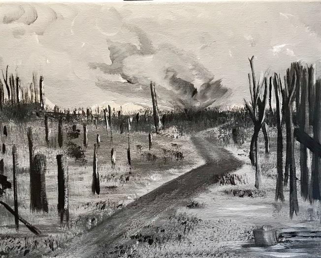 Paschendaele, Meg Sorick