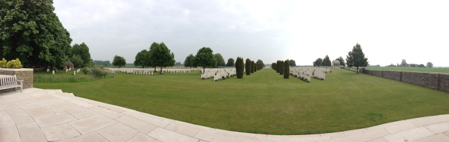 Bedford House Cemetery, Ypres, Belgium