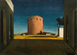 De Chirico: The Red Tower, 1913