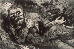 The Wounded Man, Otto Dix